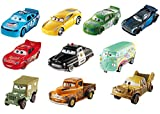 Disney DVT08Cars 3, druckgegossene Autos, 10Stück