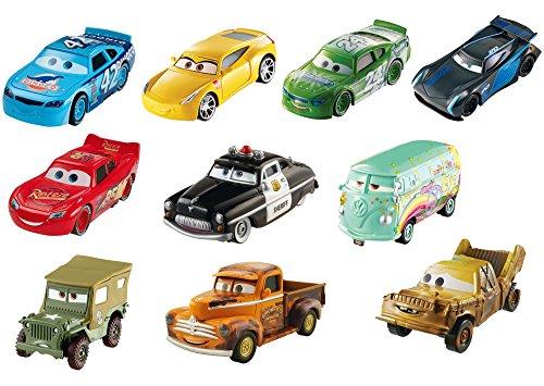, druckgegossene Autos, 10Stück (Cast Autos)