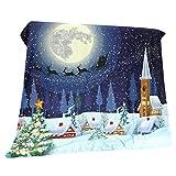 Sharplace Coperta di Letto Natale Design Divano Caldo Gettare Coperta per Viaggiare Campeggio, Casa e Ufficio - #04