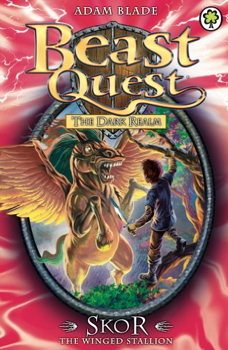 Cook Book Cover Quest : Skor the winged stallion series book beast quest