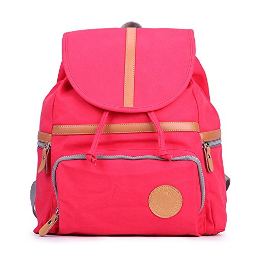 Zaino Di Moda Coreana/Student Travel Canvas Bag-A D