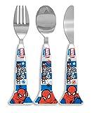Spider-Man-Man Küchen- und Brotzeitzubehör Design, Plastik, Weiß/Mehrfarbig, 1 x 3.2 x 16 cm