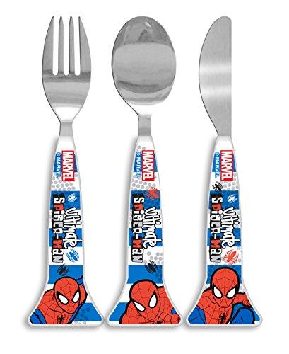 Spider-Man Küchen- und Brotzeitzubehör Design, Plastik, Weiß/Mehrfarbig, 1 x 3.2 x 16 cm -