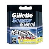 Gillette SensorExcel Systemklingen 20er, 20 Stück