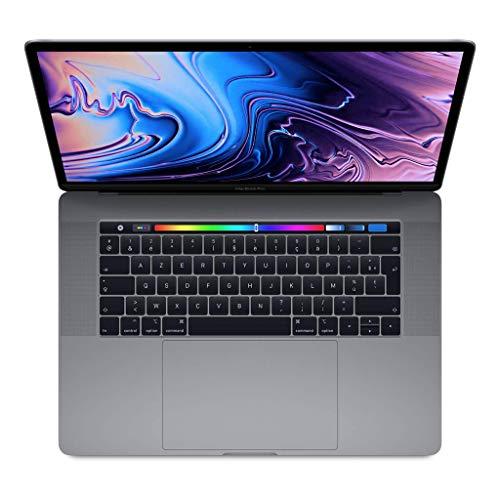 Apple MacBook Pro (15 Pouces avec Touch Bar, Processeur Intel Corei7 Hexacœur de 8émeGénération à2,2GHz, 256 GB) - Gris Sidéral