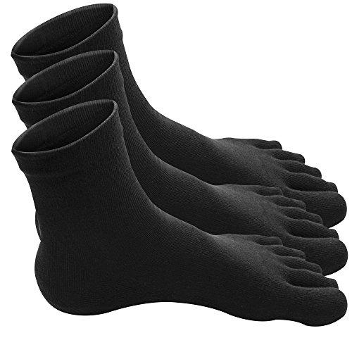traveler-100-coton-chaussettes-doigts-homme-hautes-chaudes-douces-equitation-epaisses-sport-invisibl
