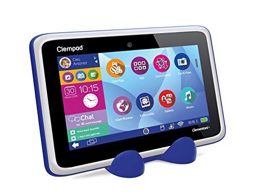 TOUCH SCREEN Clempad 5.0 XL CLEMENTONI 13337 Tablet VETRO 8.0 Versione 2015 Nero