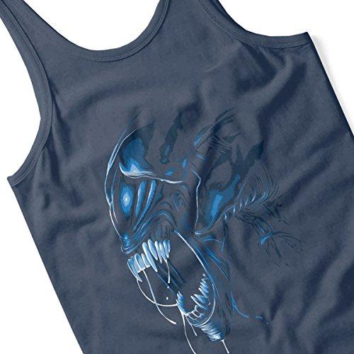 Aliens Alien Queen Men's Vest Navy Blue