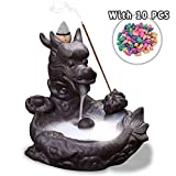 Best Incense Burners - Jeteven Dragon Incense Burner with Cones Ceramic Backflow Review