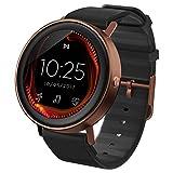 Misfit Unisex Erwachsene Digital Quarz Smart Watch Armbanduhr mit Silikon Armband MIS7006