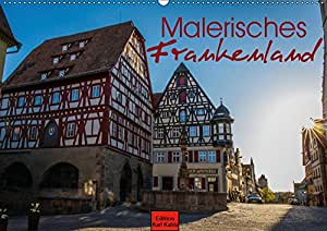Malerisches Frankenland (Wandkalender 2019 DIN A2 quer): Die Schönheiten Frankens in 12 Fotografien (Monatskalender, 14 Seiten ) (CALVENDO Orte)