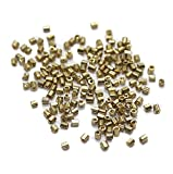 Beadsnfashion Seed Beads Bugles Golden (...