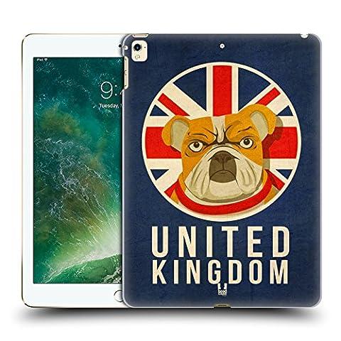 Head Case Designs Royaume-Uni Animaux Patriotiques Étui Coque D'Arrière Rigide Pour Apple iPad Pro 12.9 (2016/17)