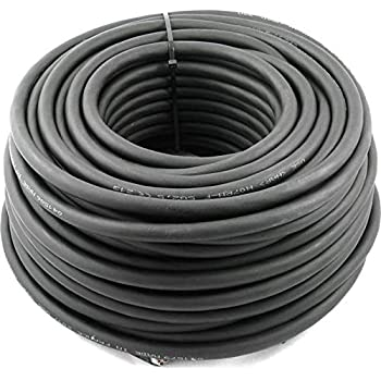 2,80€//m 25m H07RN-F 5G4 5x4 mm² Kabel Gummileitung Leitung Baustellenkabel