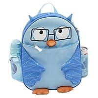 Super Cute Owl Kids Back Pack School Book Bag - BLUE or PINK