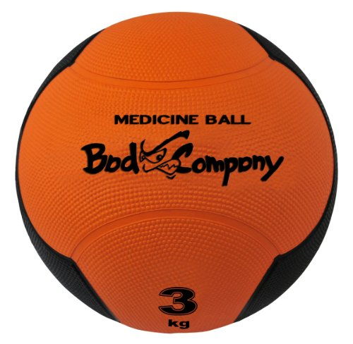 Profi Medizinball / Gymnastikball 3Kg orange Fitness Ball