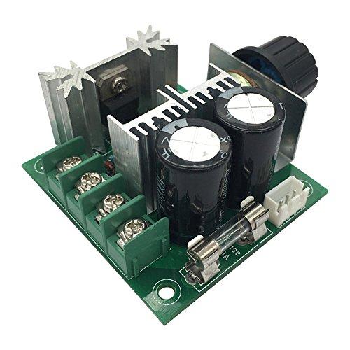FengYun® PWM Gleichstrom Drehzahlregler Regler Pumpe Geschwindigkeit variables Drehzahlschalter Modul hoher Wirkungsgrad 12V 40V 10A (Wirkungsgrad)