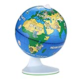 NeoBear's - 3D AR Globe Terrestre Interactif, Jeu pédagogique,cadeau Éducatif, Multilingue, Compatible avec Tablettes et Smartphone
