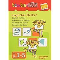 bambinoLK-Sets-Kasten-bungshefte-bambinoLK-Set-345-Jahre-Logisches-Denken bambinoLÜK-Sets: bambinoLÜK-Set: 3/4/5 Jahre: Logisches Denken -