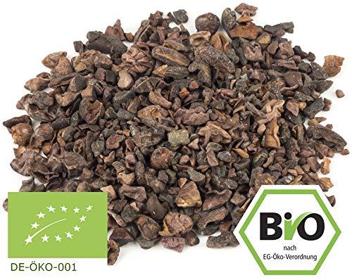 BIO Rohe und unfermentierte Kakaonibs aus Edel-Kakaobohnen - 500g (Bücher Trade-in-programm)
