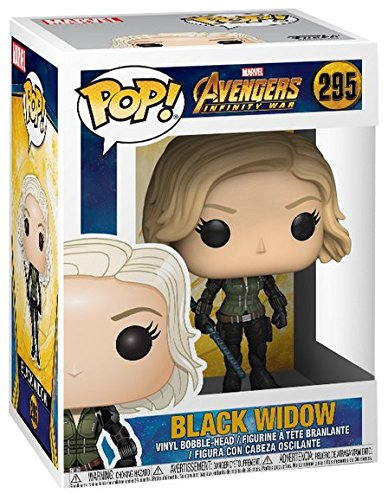 POP Marvel Avengers Infinity War Black Widow Bobblehead F