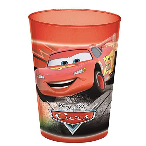 Disney Pixar Cars - Vaso Cars - Color : Rojo 3