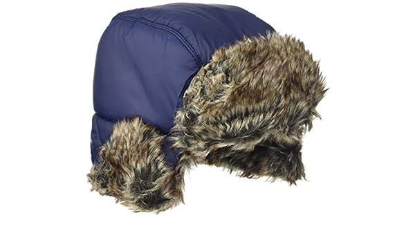 73ca6f2a9ebd1 Timberland Boy s T21277 Chapka Hat Blue (Navy)