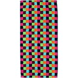 Cawö Saunatuch Lifestyle Karo 7047 multicolor - 84 Größe 70 x 180