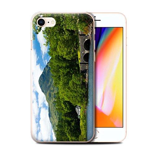 Stuff4 Hülle / Case für Apple iPhone 8 / Loch/Felsen Muster / Schottisch Landschaft Kollektion Brücke/Berg