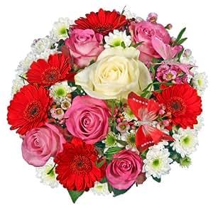 """Blumenstrauß Blumenversand """"Blumen-Queen"""" +Gratis Grußkarte+Wunschtermin+Frischhaltemittel+Geschenkverpackung"""