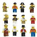 Imixlot Mixed Styles Community Figures Family Set Minifigures Men People Minifigs Randomly Send Pack of 20