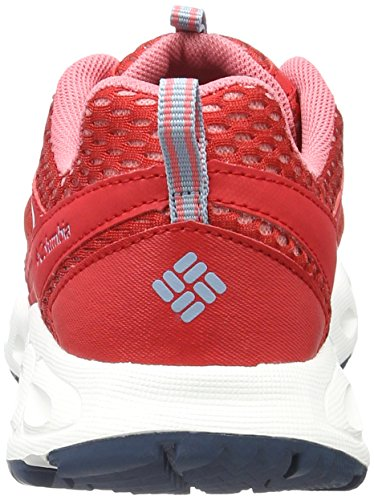 Columbia Vent Master, Scarpe Sportive Outdoor Donna Rosso (Bright Red, Wild Salmon 691)