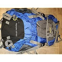 onyorhan 70L Viaje Mochila Trekking Senderismo Excursionismo Alpinismo Escalada Camping para Hombre Mujer (Azul)