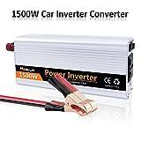 Mesllin Car inverter convertitore 1500 W (3000 W picco) onda sinusoidale modificata DC 12 V a 240 V AC per camion
