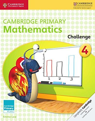 Cambridge Primary Mathematics Challenge 4 (Cambridge Primary Maths)