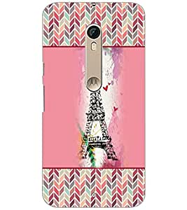 PrintDhaba Tower D-4152 Back Case Cover for MOTOROLA MOTO X PURE EDITION (Multi-Coloured)