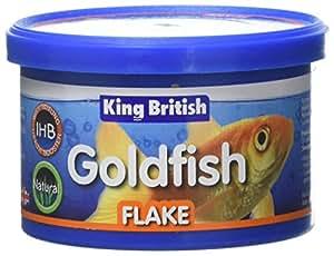 King British Goldfish Flake Food, 12 g