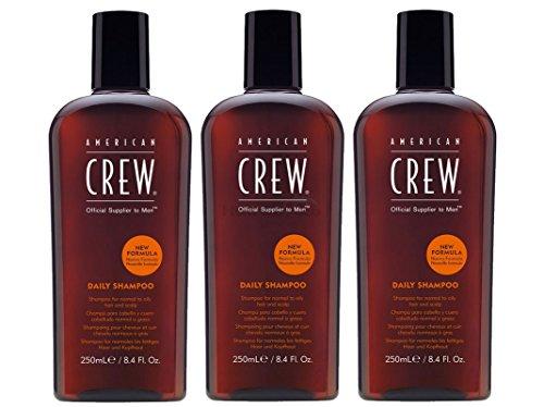 American Crew Daily Shampoo (Neue Formel) 3x 250 ml = 750ml - American Crew Daily Moisturizing Shampoo