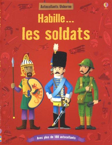 Habille... les soldats (Autocollants Usborne)