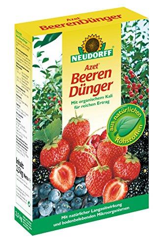 Neudorff azet beerenDuenger 1PaCK 2,5 kg