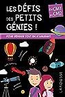 Les Défis des Petits Genies, du CM1 au CM2- Cahier de vacances