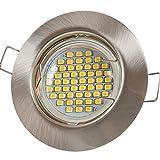 12x Lu-Mi® Einbaustrahler GU10 LED 3W SMD Warmweiß 230V