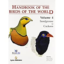 Handbook of the Birds of the World: Sandgrouse to Cuckoos v. 4