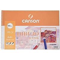 Canson 726453 - Bloc A4, micro perforado, 20 hojas, 130 gr