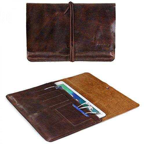 ROYALZ custodia di protezione per Apple iPad Pro 9.7 cover di protezione accessori sleeve case caso modern design vintage vera pelle marrone