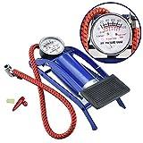 #7: Technuv 100 psi Tyre Air Pump for Car & Bike
