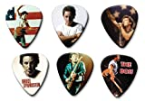 Bruce Springsteen Set of 6 Loose Médiators Picks ( Collection E )