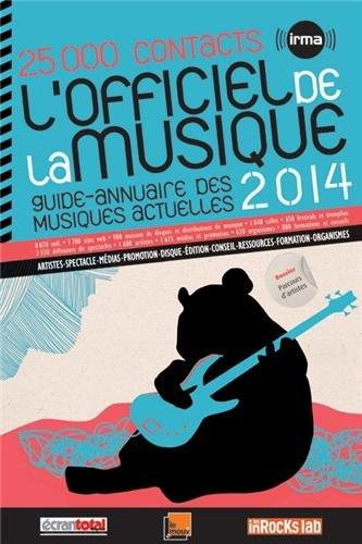 L'Officiel de la musique 2014 par IRMA