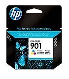 HP 901 Cartouche d'encre Trois Couleurs Authentique (CC656AE)