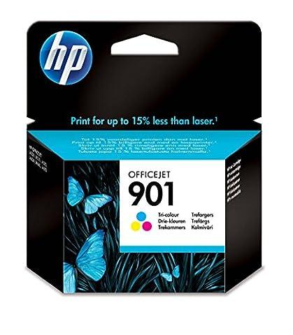 HP 901 Cartouche d'Encre Trois Couleurs (Cartouche Cyan, Magenta, Jaune)